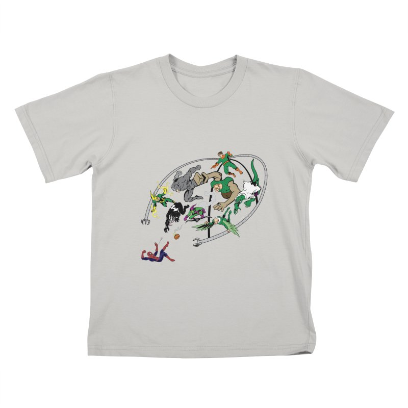 Sinister Kids T-shirt by drawdavedraw