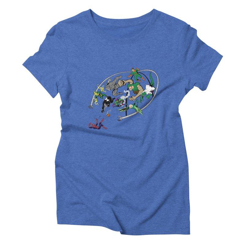 Sinister Women's Triblend T-shirt by drawdavedraw