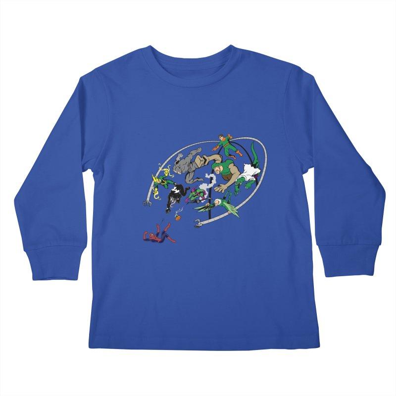 Sinister Kids Longsleeve T-Shirt by drawdavedraw