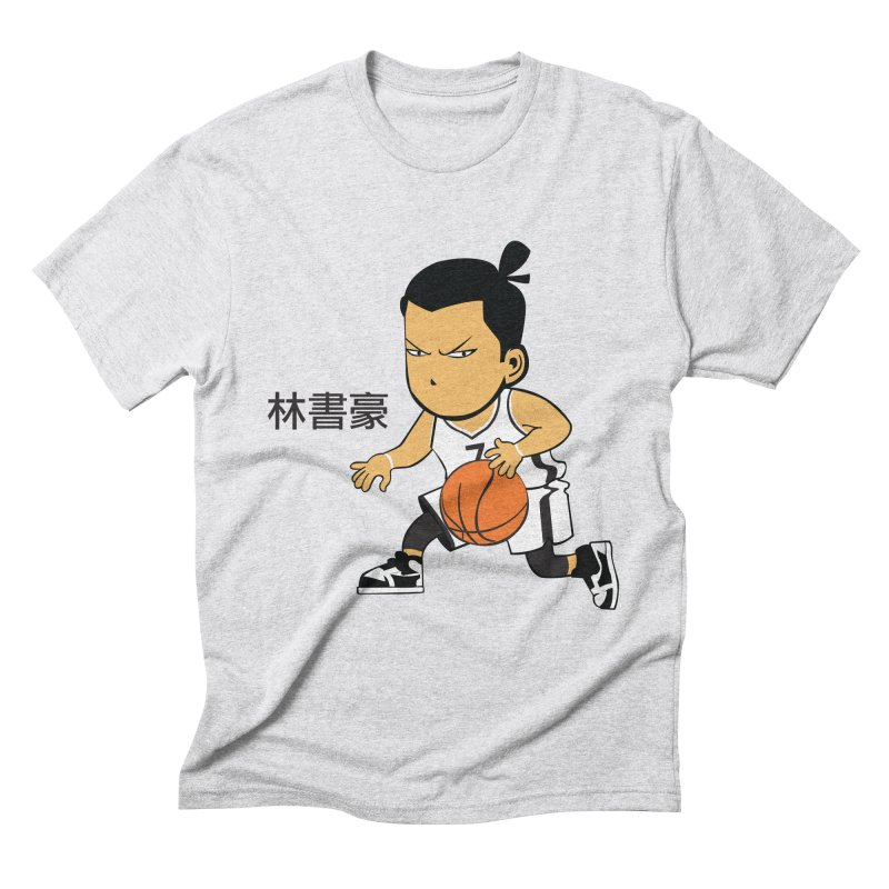 Brooklin Men's Triblend T-Shirt by drawdavedraw