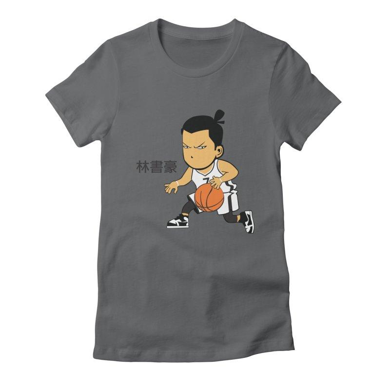 Brooklin Women's Fitted T-Shirt by drawdavedraw