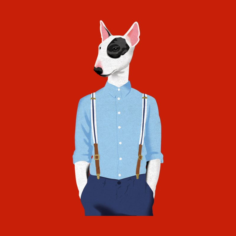 Skinhead Bull Terrier by drawgood's Shop