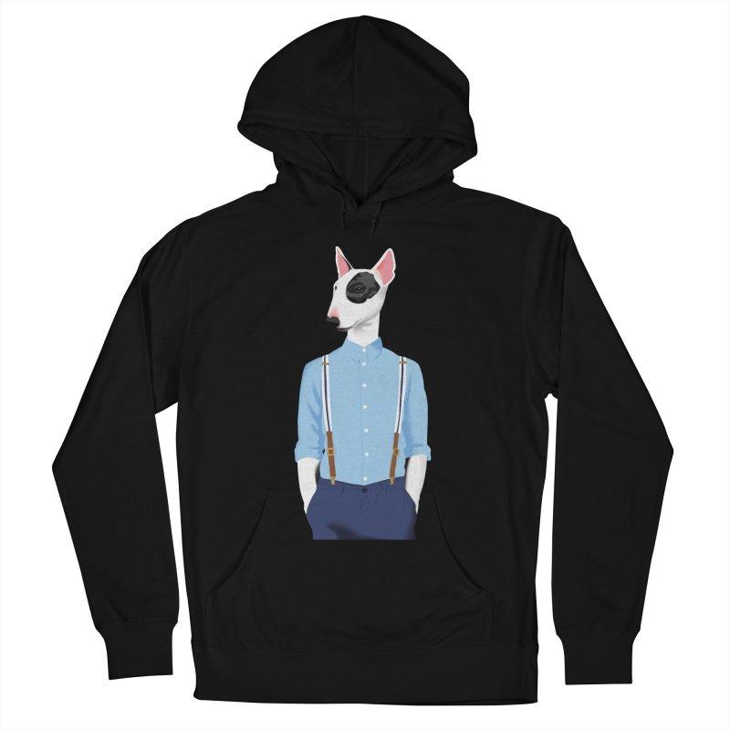 Skinhead Bull Terrier Men's Pullover Hoody by drawgood's Shop