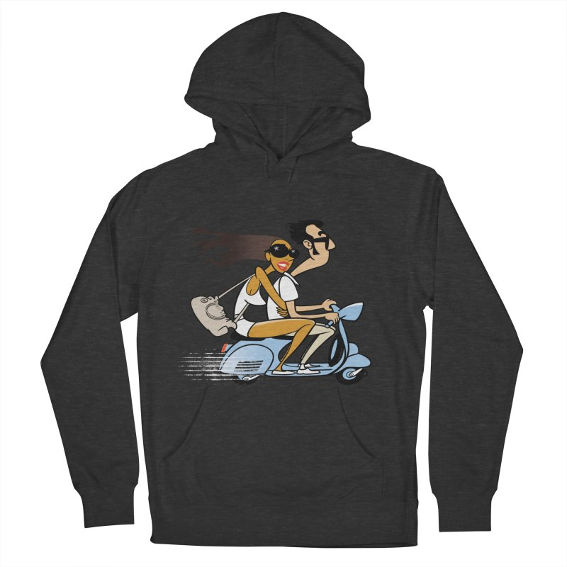Scooter Couple Men's Pullover Hoody by drawgood's Shop