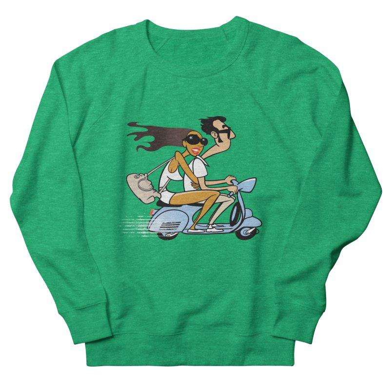 Scooter Couple Women's Sweatshirt by drawgood's Shop