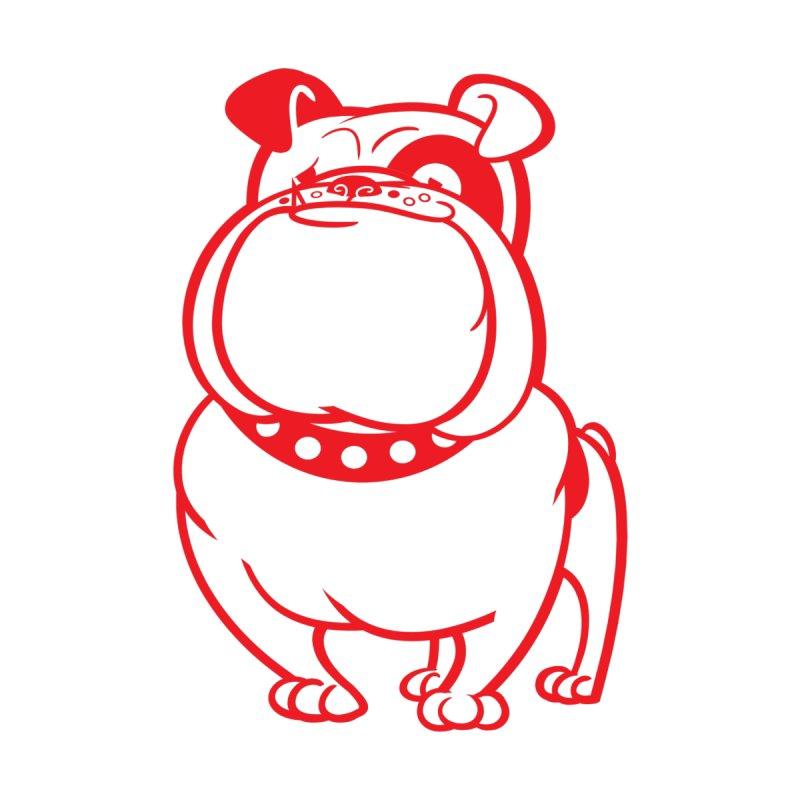Bulldog None  by drawgood's Shop