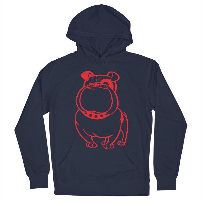 Bulldog Men's Pullover Hoody by drawgood's Shop