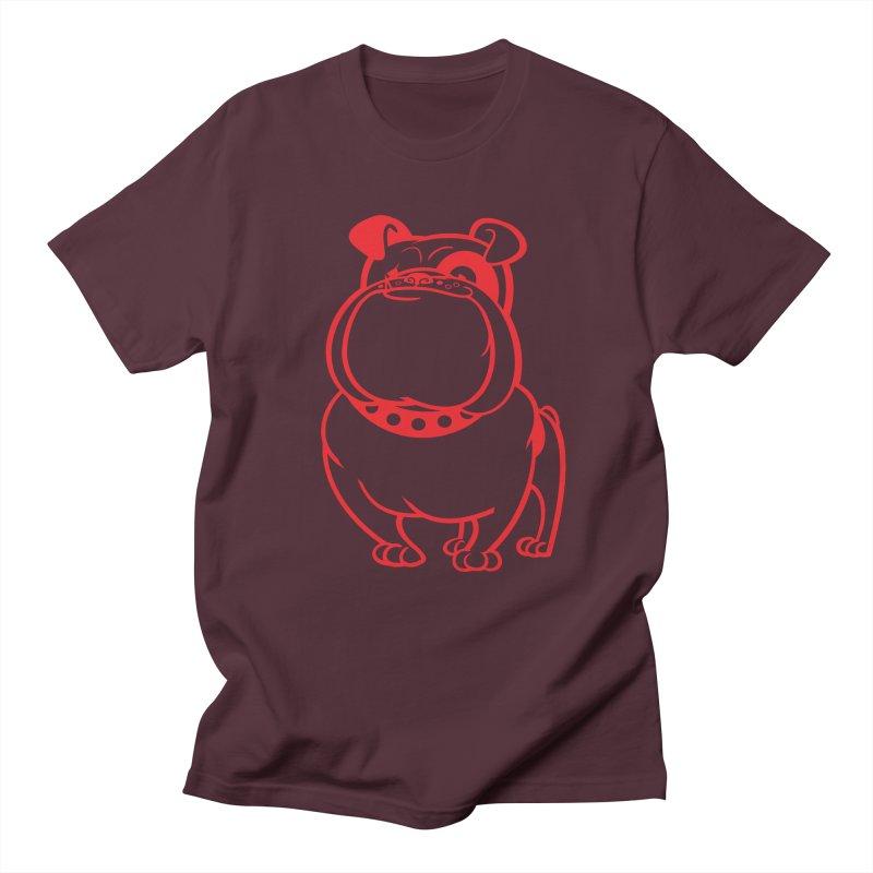 Bulldog Men's T-shirt by drawgood's Shop