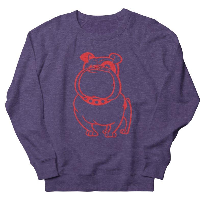 Bulldog Women's Sweatshirt by drawgood's Shop