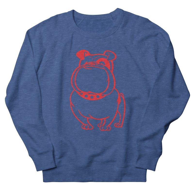 Bulldog Men's Sweatshirt by Studio Drawgood