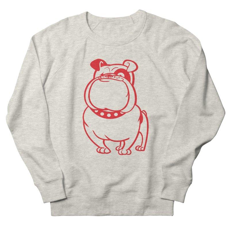 Bulldog Men's Sweatshirt by drawgood's Shop