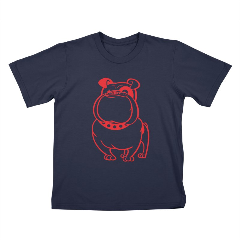 Bulldog Kids T-Shirt by Studio Drawgood