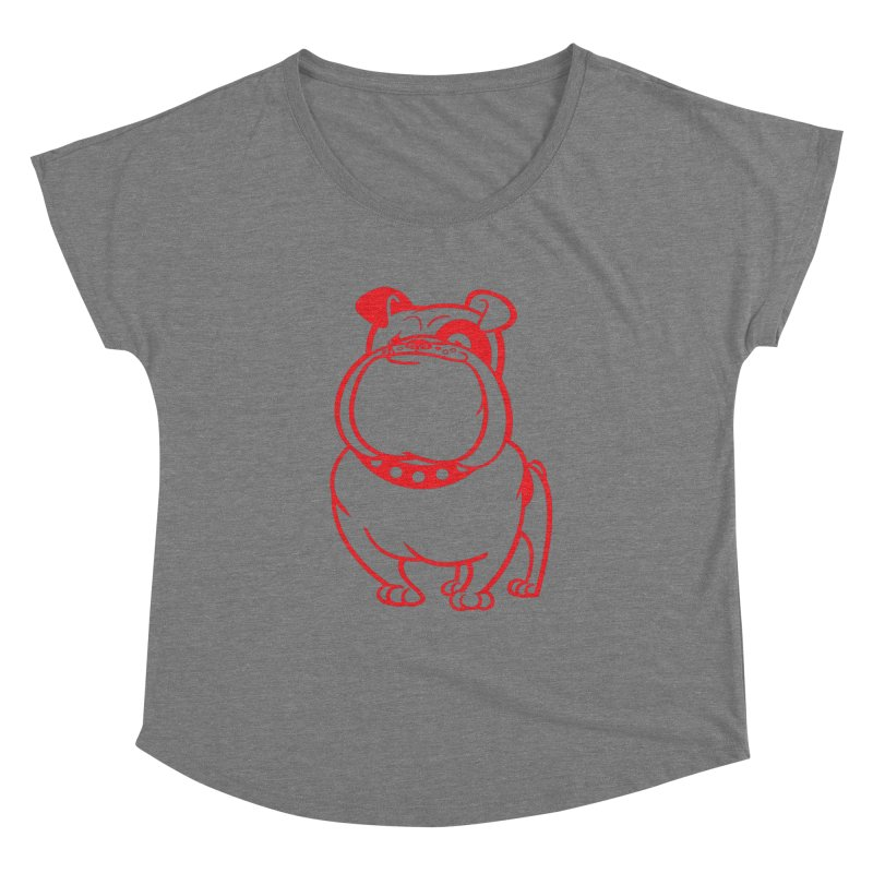 Bulldog Women's Dolman by drawgood's Shop