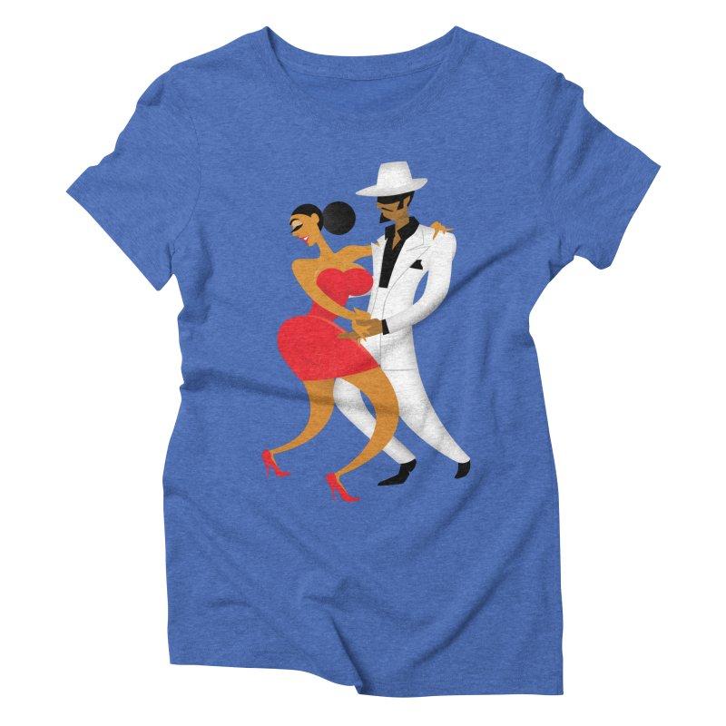 Last Tango In Cuba Women's Triblend T-shirt by drawgood's Shop