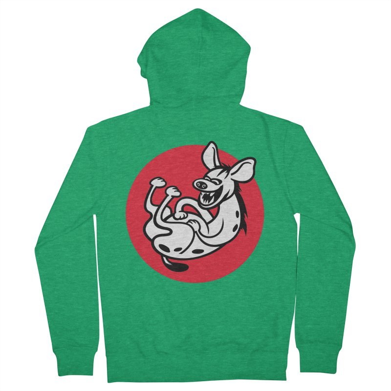 The Laughing Hyena Women's Zip-Up Hoody by drawgood's Shop