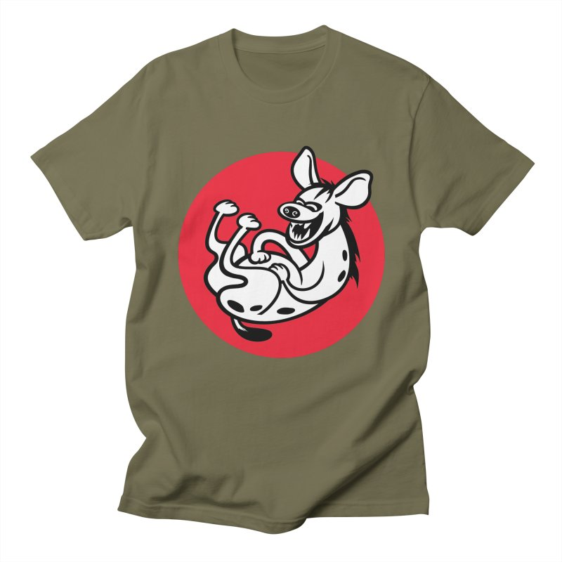 The Laughing Hyena Men's T-Shirt by drawgood's Shop