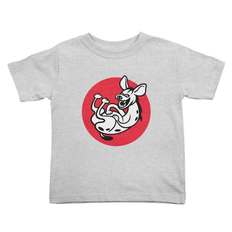 The Laughing Hyena Kids Toddler T-Shirt by Studio Drawgood