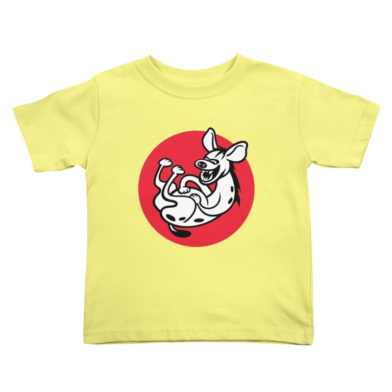 The Laughing Hyena Kids Toddler T-Shirt by drawgood's Shop