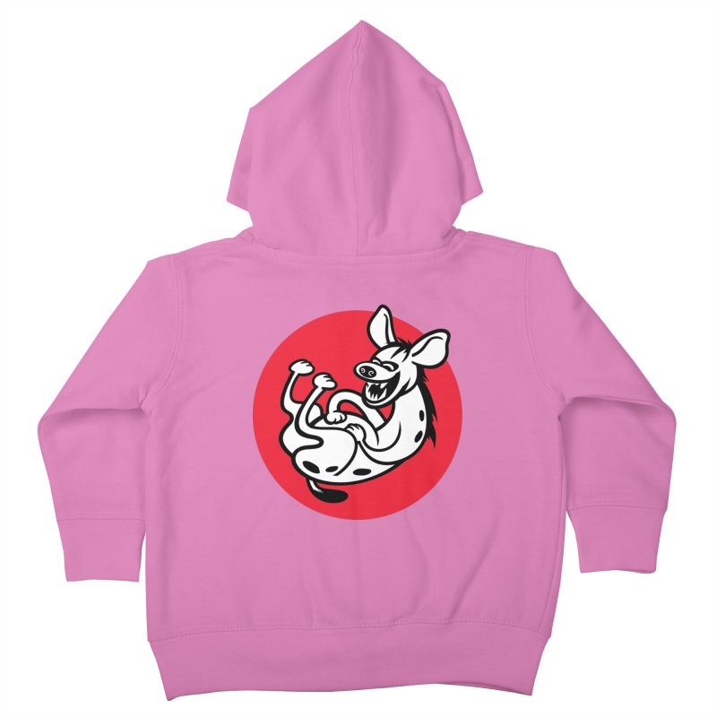 The Laughing Hyena Kids Toddler Zip-Up Hoody by drawgood's Shop