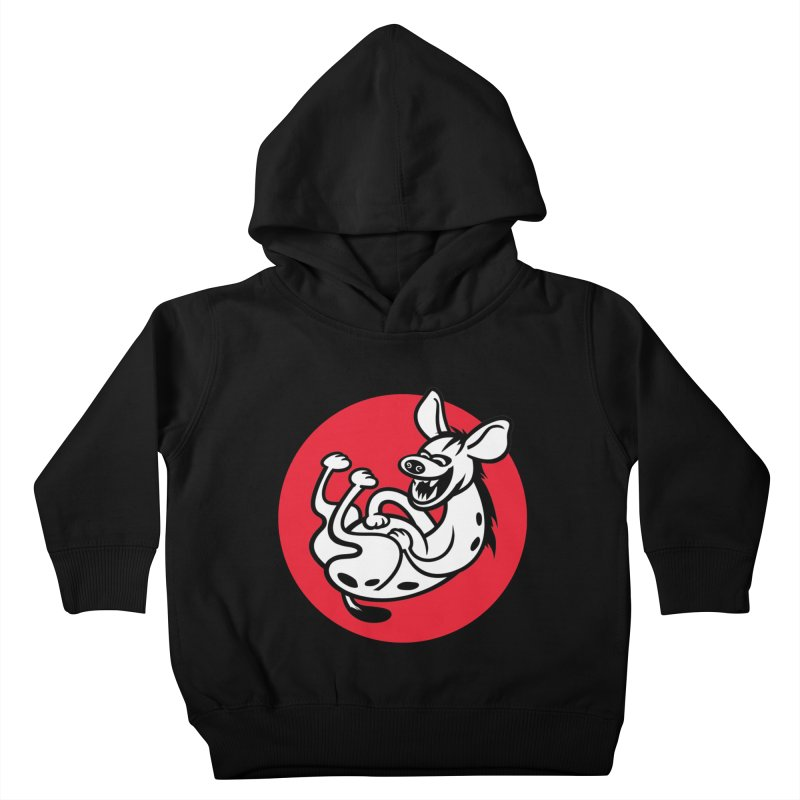 The Laughing Hyena Kids Toddler Pullover Hoody by drawgood's Shop