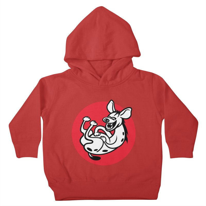The Laughing Hyena Kids Toddler Pullover Hoody by Studio Drawgood