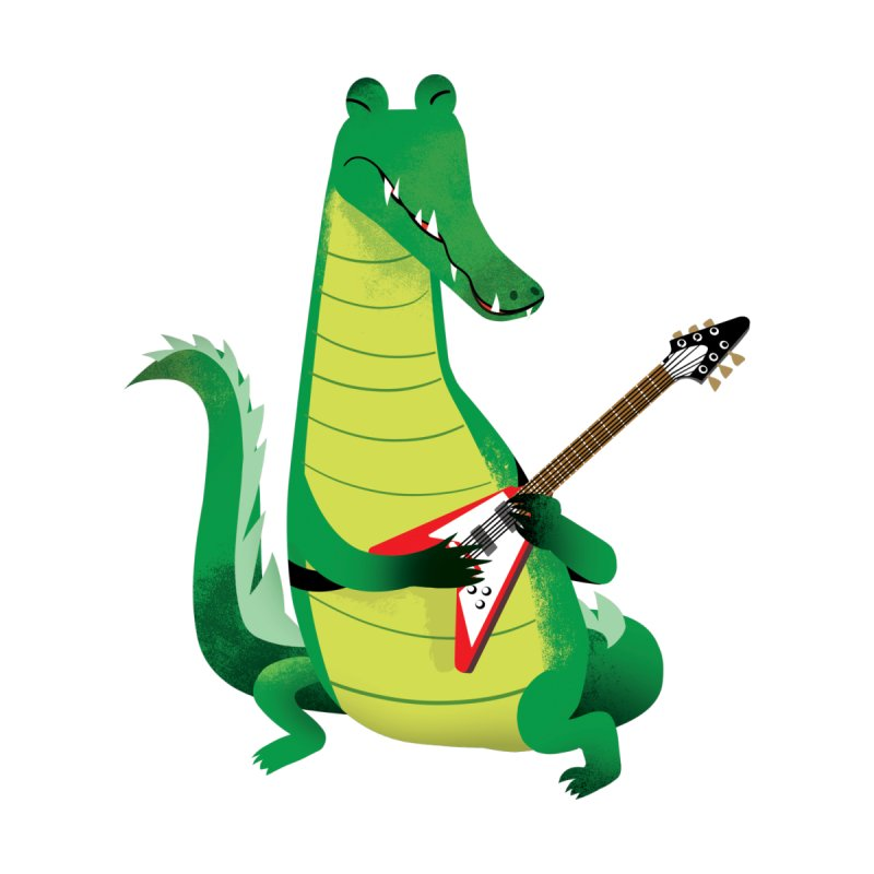 Crocodile Rock None  by drawgood's Shop