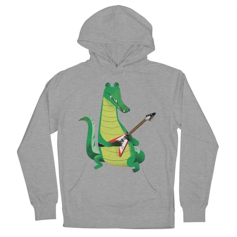 Crocodile Rock Women's Pullover Hoody by drawgood's Shop