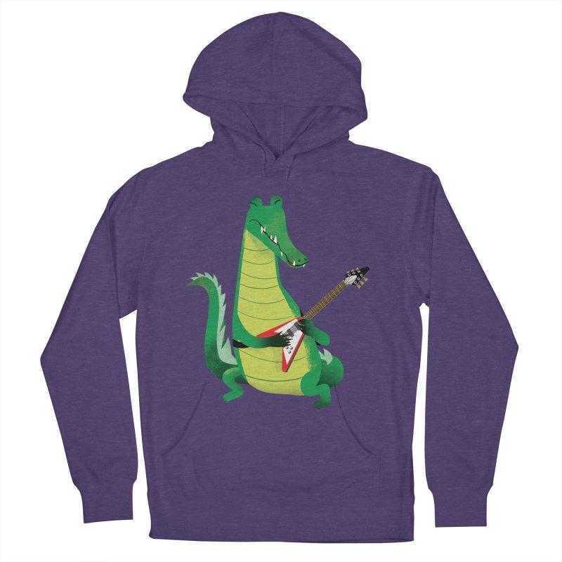 Crocodile Rock Men's Pullover Hoody by drawgood's Shop