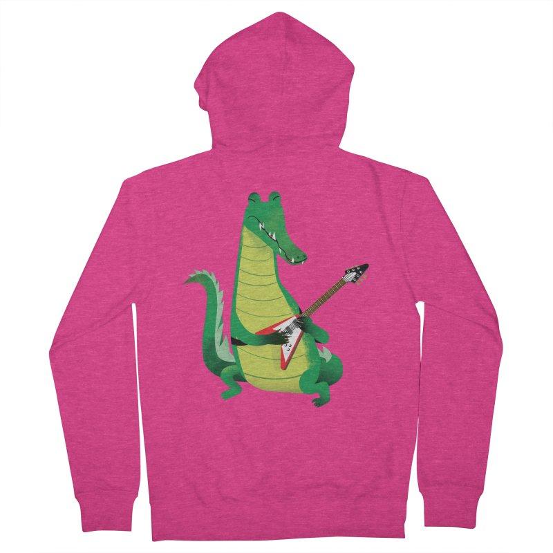 Crocodile Rock Women's Zip-Up Hoody by drawgood's Shop