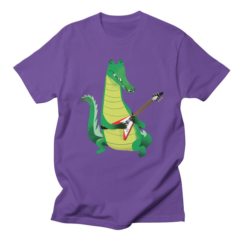 Crocodile Rock Men's T-shirt by drawgood's Shop