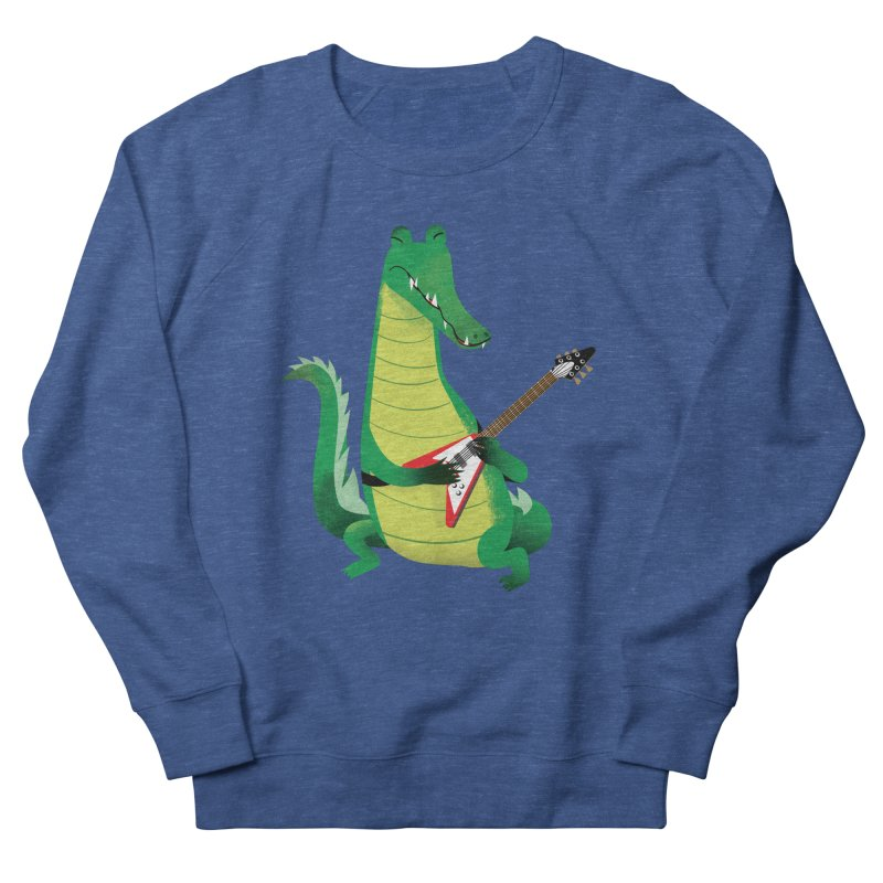 Crocodile Rock Women's Sweatshirt by drawgood's Shop