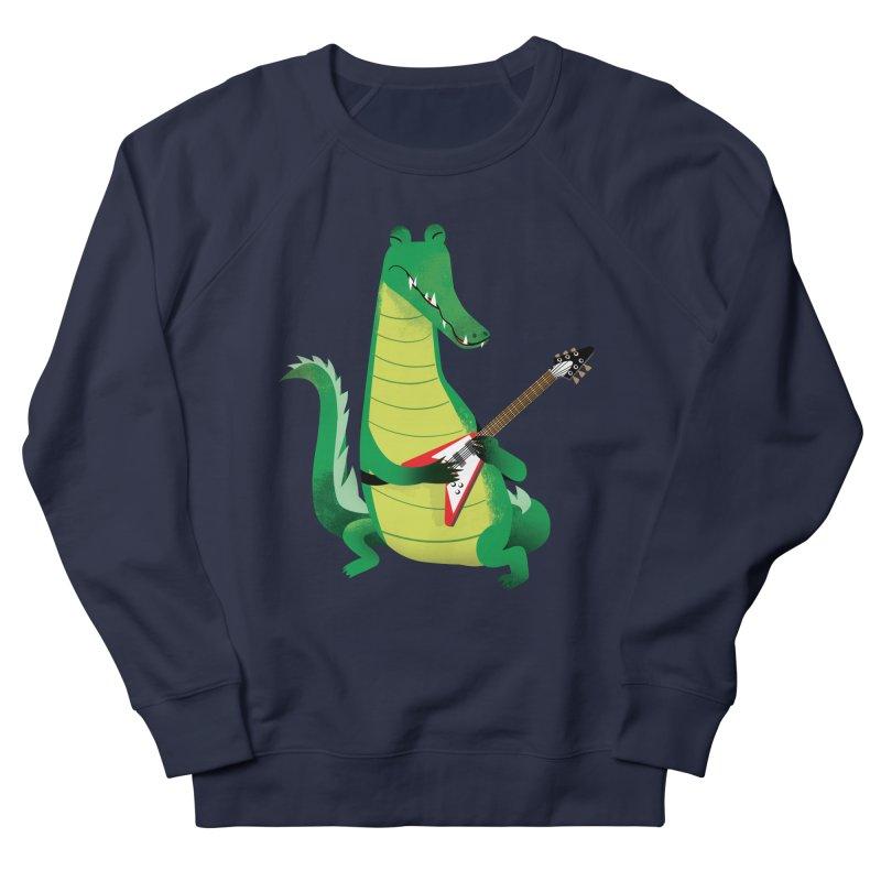 Crocodile Rock Men's Sweatshirt by drawgood's Shop