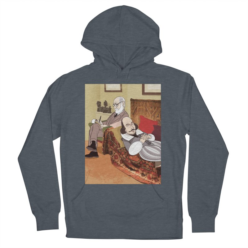 Freud Analysing Shakespeare Women's Pullover Hoody by drawgood's Shop