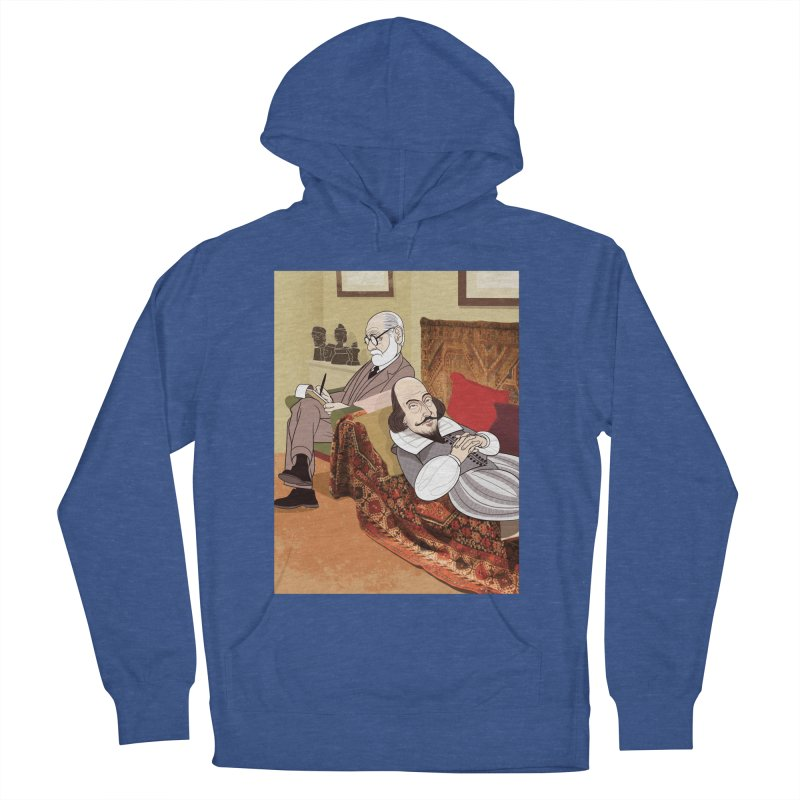 Freud Analysing Shakespeare Men's Pullover Hoody by drawgood's Shop
