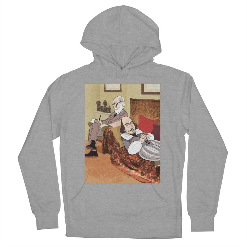 Freud Analysing Shakespeare Men's Pullover Hoody by Studio Drawgood