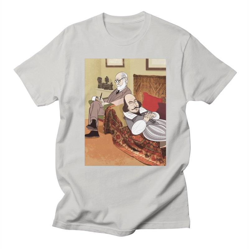 Freud Analysing Shakespeare Men's T-shirt by drawgood's Shop