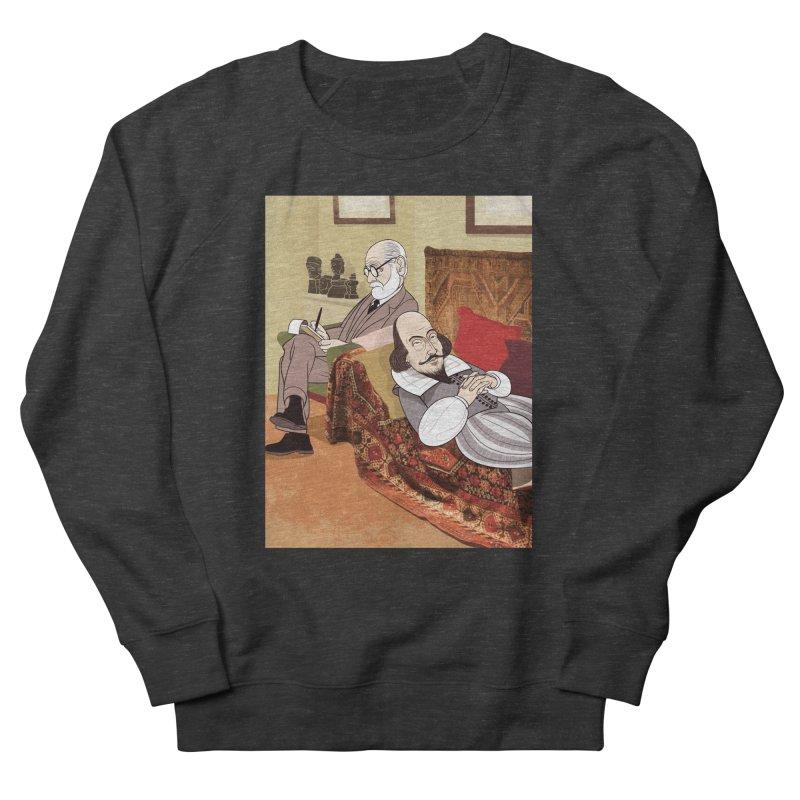 Freud Analysing Shakespeare Women's Sweatshirt by drawgood's Shop