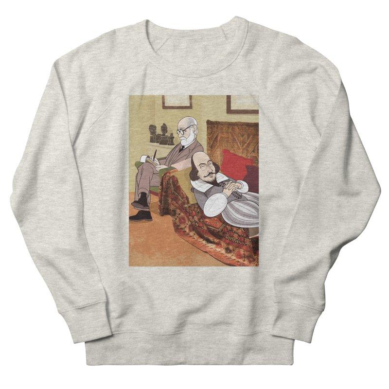 Freud Analysing Shakespeare Men's Sweatshirt by drawgood's Shop