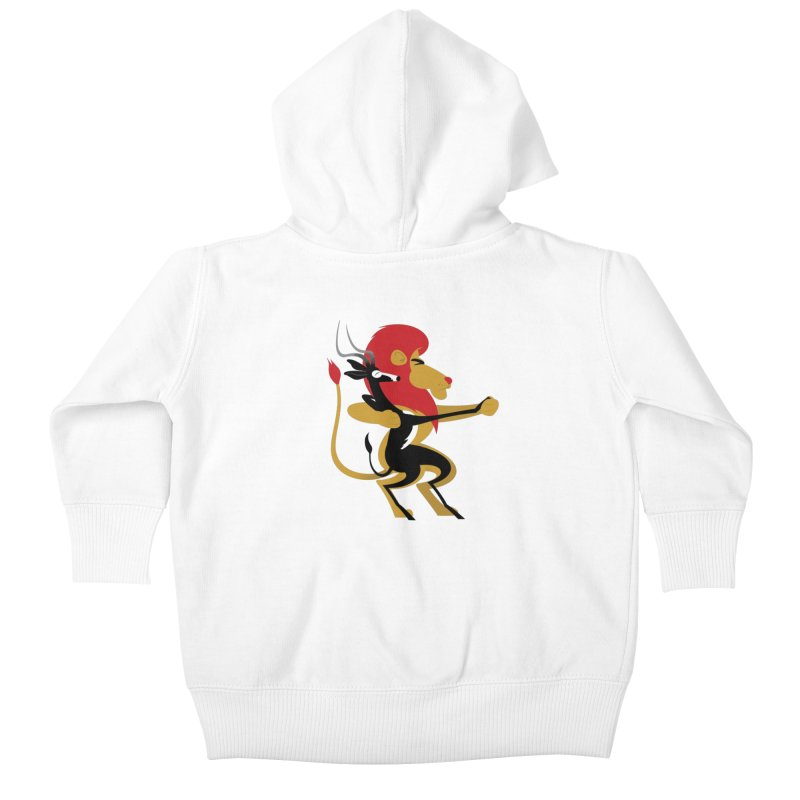 An Unlikely Alliance Kids Baby Zip-Up Hoody by drawgood's Shop
