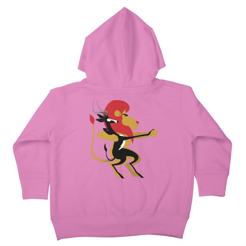 An Unlikely Alliance Kids Toddler Zip-Up Hoody by drawgood's Shop