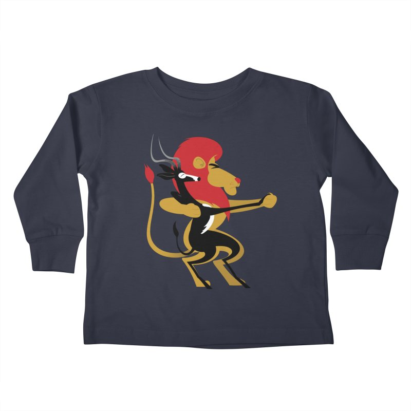 An Unlikely Alliance Kids Toddler Longsleeve T-Shirt by drawgood's Shop