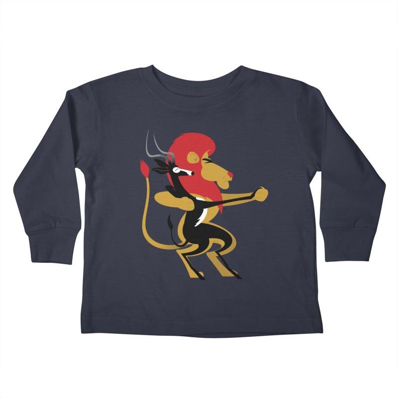 An Unlikely Alliance Kids Toddler Longsleeve T-Shirt by drawgood's Shop
