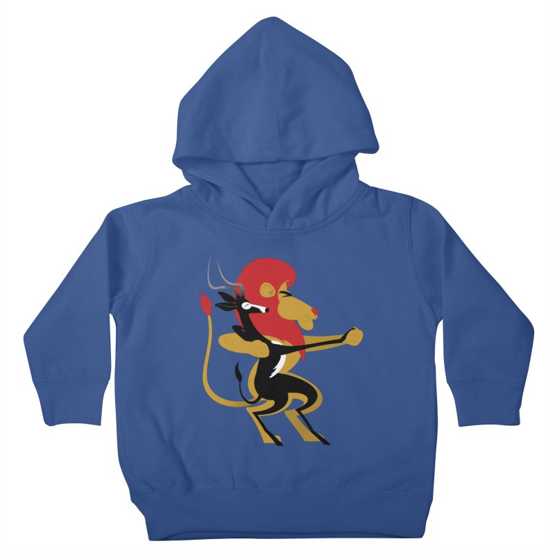 An Unlikely Alliance Kids Toddler Pullover Hoody by drawgood's Shop