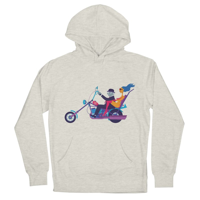 Mid-Life Crisis No.1 Women's Pullover Hoody by Studio Drawgood