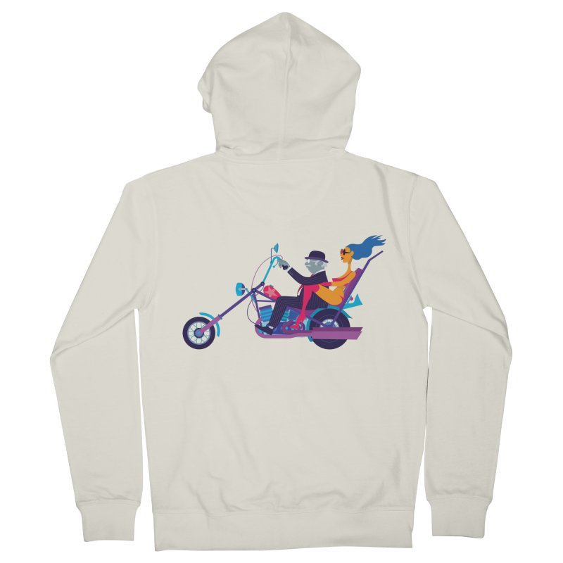 Mid-Life Crisis No.1 Men's Zip-Up Hoody by drawgood's Shop