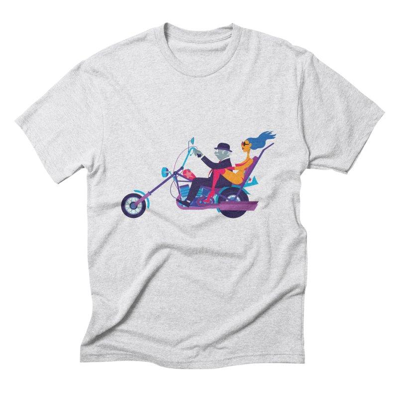Mid-Life Crisis No.1 Men's Triblend T-shirt by drawgood's Shop