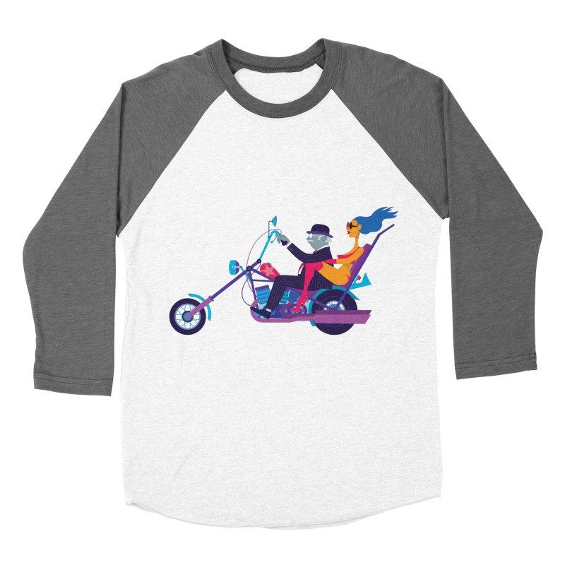 Mid-Life Crisis No.1 Women's Baseball Triblend T-Shirt by Studio Drawgood