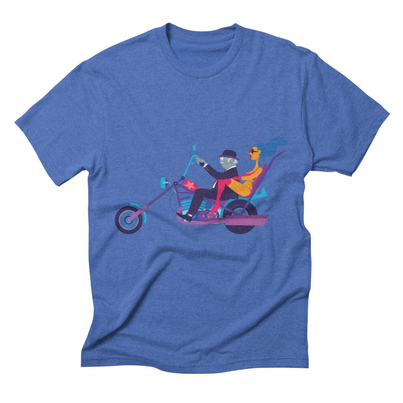 Mid-Life Crisis No.1 Men's Triblend T-shirt by drawgood's Shop