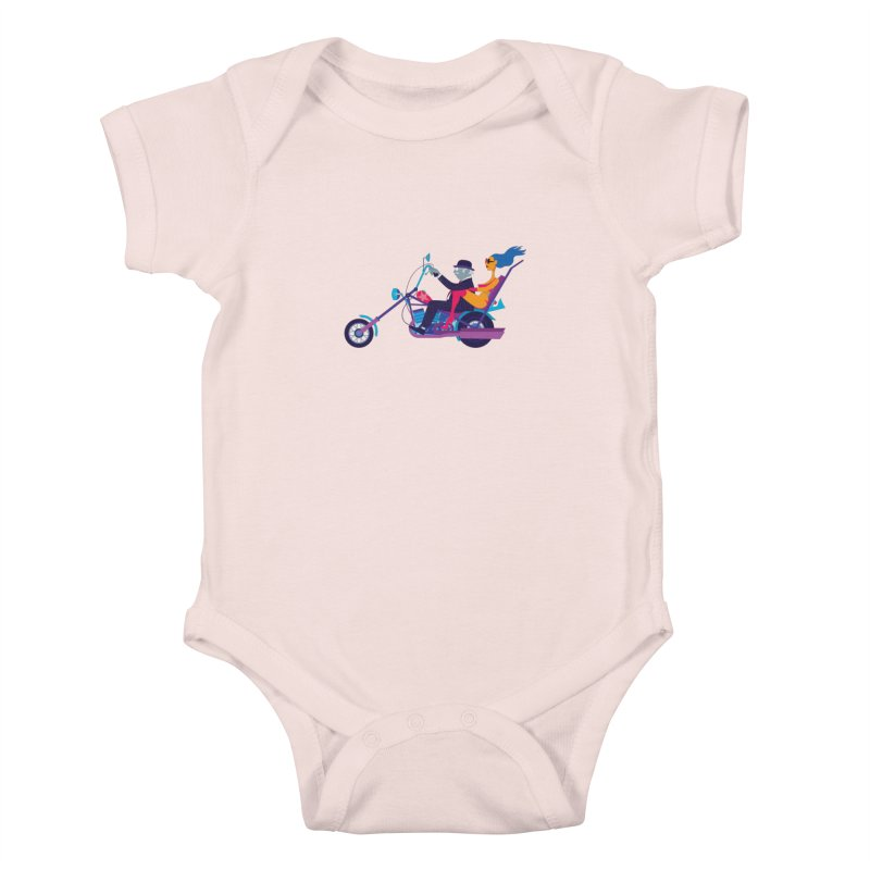 Mid-Life Crisis No.1 Kids Baby Bodysuit by drawgood's Shop