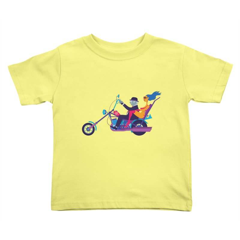 Mid-Life Crisis No.1 Kids Toddler T-Shirt by drawgood's Shop